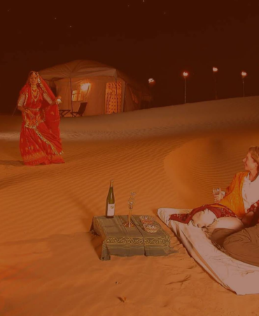 Night Sky, Camp & The Dunes – Rajasthan